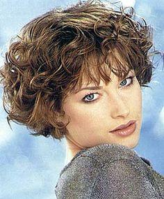 Short, tousled curls