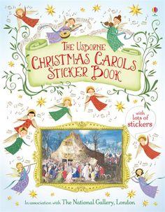 The Usborne Christmas Carols Sticker Book. £6.99