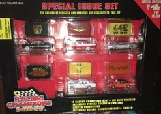 Racing Champions MINT Special Issue 5 Car Set #4 Limited Production 1996 1:64