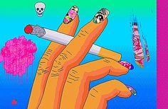 pixel and smoke image