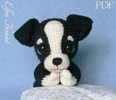 Elfin Thread Chaco the Chihuahua Puppy Amigurumi by ElfinThread