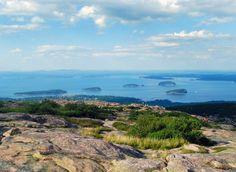 Cadillac Mountain, Acadia, Maine - hiked it!