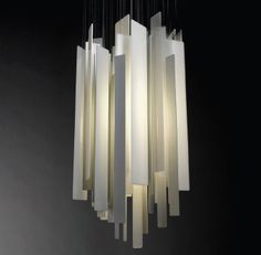 great chandelier light -by miranda watkins