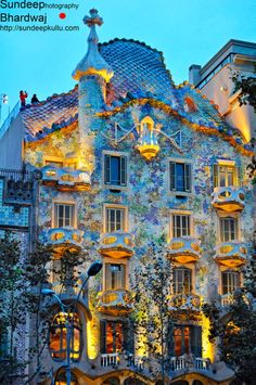 Casa Batllo by Gaudi, Barcelona- This was one of the most unique building I have ever been blessed enough to go in!-M