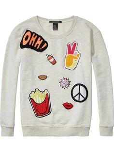 Pop Culture Sweater