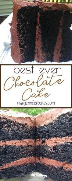 The Best chocolate cake like ever. This cake is so rich and chocolate-y and moist and mighty y'all! (chocolate icing for cake) Best Ever Chocolate Cake, Amazing Chocolate Cake Recipe, Chocolate Desserts, Cake Chocolate, Chocolate Cake From Scratch, Brownie Desserts, Cupcake Recipes, Cupcake Cakes, Dessert Recipes