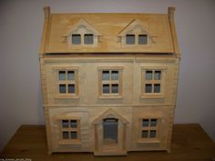 Plan Toys Victorian Wooden Dollhouse Home Mansion House Local P U MD 20705 | eBay