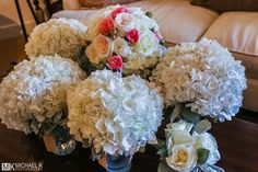 Wedding bouquets - Simple yet beautiful.