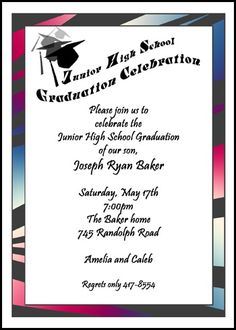 Surprise Graduation Party Invitations is awesome invitation example