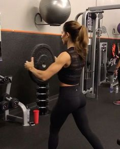"""4,208 Likes, 49 Comments - Alexia Clark (@alexia_clark) on Instagram: """"Plate workout 1. 12 each on each side 2. 12 reps 3. 15 reps 4. 15 each side 3-4 rounds…"""""""