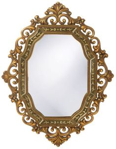 "Hawkins Antique Pewter Mirror 31""x40""x2"""