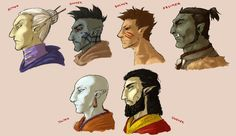 Elf races of Tamriel by ~ankalime on deviantART