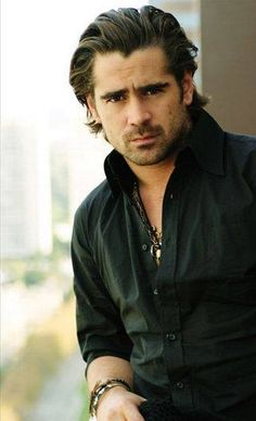 I think I found my Harley Dutch (the bar owner in my new Sugar Lake series!). Can't go wrong with Colin Farrell