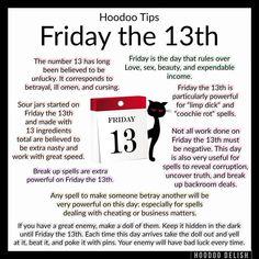 Hoodoo - Friday The Hoodoo Spells, Magick Spells, Witchcraft, Happy Friday The 13th, Friday The 13th Quotes, Voodoo Hoodoo, Witch Spell, Practical Magic, Love Spells