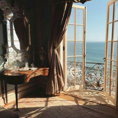 sea, room, and view image