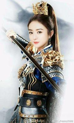 Tuổi thinh xuân cua co nang ai Warrior Girl, Warrior Princess, Warrior Pose, Female Samurai, Zhao Li Ying, China Girl, Traditional Fashion, Chinese Actress, Chinese Culture