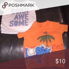 2 toddler shirts Good condition from Gap GAP Shirts & Tops Tees - Short Sleeve
