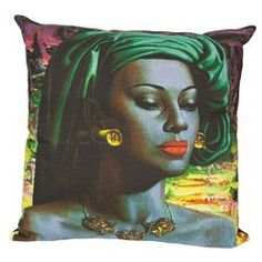 Tretchikoff Cushion (Balinese Girl) by Safari Fusion www.safarifusion.com.au