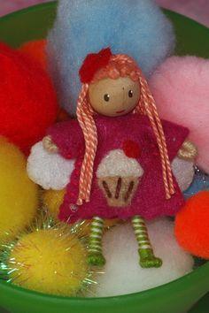 Waldorf sweet dreams fairy bendy doll