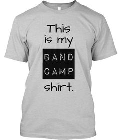 Show your Band Geekpride with this expressive t-shirt! Great for middle school/high school/college bands!