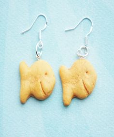 goldfish crackers earrings