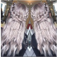 Today was such a fun day!:) happy clients happy hairdresser!:) Vikingbraids💪🏻 CUT/COLOR by me :) #vikingsbraid #daenerystargaryen #instahair #wella #wellalife #wellahair #wellaeducation #braids #btconeshot_braids #silverblonde #tagsforlikes #olaplex #olaplexdanmark #silverfox #hairbyanettej #hair #hairinspo #goodhairday #frisørkøbenhavn #frisørfrederiksberg #btconeshot_color16 @wellaeducation @wellahair @olaplex @olaplexdk @modernsalon @behindthechair_com