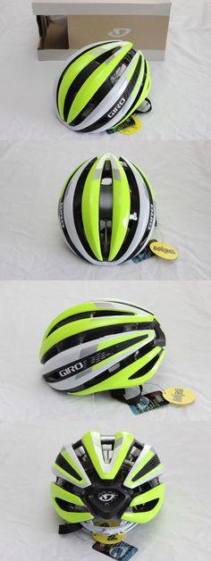 Helmets 70911: New Synthe Mips Road Bike Helmet Matte White Yellow Large Lightweight Tt Tri BUY IT NOW ONLY: $154.99