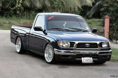 Image detail for -JDM Truck – Toyota Tacoma Slammed on BBS RS | JDMEURO.com