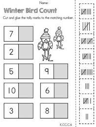 winter worksheets kindergarten - Buscar con Google