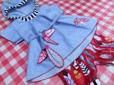 Rosita, Blusen-Schnitt von Bienvenido Colorido, ab dem 5.6. bei Farbenmix.de Freebies, Sewing For Kids, Bunt, Free Pattern, Patterns, Diy, Inspiration, Design, Block Prints