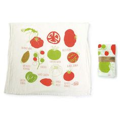 Tomato Tea Towel, $13, now featured on Fab.