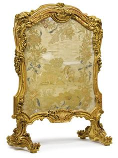 French Giltwood Dressing Screen - Buscar con Google