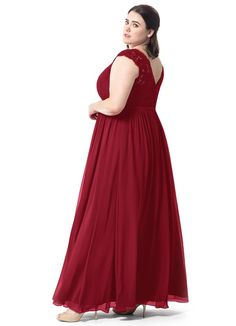 Shop Azazie Bridesmaid Dress - Azazie Arden in Chiffon and Lace. Find the perfect made-to-order bridesmaid dresses for your bridal party in your favorite color, style and fabric at Azazie. Moda Xl, Plus Size Gowns, Azazie Bridesmaid Dresses, Skinny Ties, Chiffon Skirt, Fashion Gallery, Maternity Fashion, Formal Dresses, Wedding Dresses