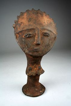 Memorial Figure (Mma)  Date:     19th–20th century Geography:     Ghana Culture:     Akan peoples, Asante Medium:     Terracotta