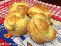Muffin philadelphia e olive *meglio lasciar lievitare un po' prima di infornare