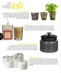 Giftware News: Gift, Gourmet, & Decor, a digital magazine, featured us in their June/July 2016 issue! They mentioned our Herban Garden candles on page 50. <3 Thanks!