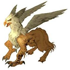 Griffon - from mythical monsters