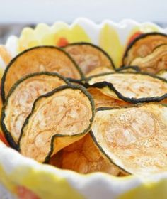 Baked Zucchini Chips by Maggie