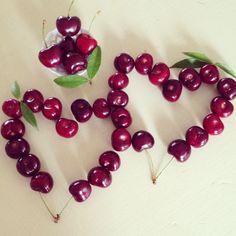 Cherries-hearts
