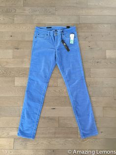 Jonathan Skinny Corduroy by Kut from the Kloth.   Send these in this color & the red below!!!  Size 6, please.  I just saw the teal, & it was pretty, too.