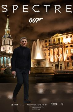 Bond Art Collage by CMark #spectre #jamesbond