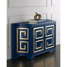 Barclay Butera Brigitte Cabinet (3 285 AUD) ❤ liked on Polyvore featuring home, furniture, storage & shelves, cabinets, metallic furniture, hand made furniture, handcrafted furniture, european furniture and european cabinets