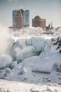 Stu Stu Studio – Lewiston, NY Photography » Niagara Falls Frozen?