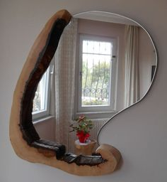 Hey, I found this really awesome Etsy listing at https://www.etsy.com/listing/454502846/oakwood-decorative-mirror-rustic-wall