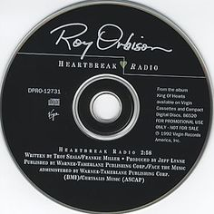 """For Sale - Roy Orbison Heartbreak Radio USA Promo  CD single (CD5 / 5"""") - See this and 250,000 other rare & vintage vinyl records, singles, LPs & CDs at http://eil.com"""