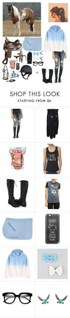 """Gone riding.  🐎🏇🐴"" by troubling-matters ❤ liked on Polyvore featuring Forever 21, Casetify, Full Tilt, ZeroUV, Nintendo and Tiffany & Co."