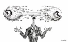 """""""eye can't make up my mindlessness fast enough"""" by emek.net"""