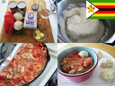 Authentic Zimbabwe - Dovi with sadza balls Recipe from: www.celtnet.org.u......