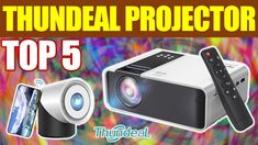 Top 5 ThundeaL Projector on Aliexpress 2021 Projector Reviews, Best Projector, Gadget, Tops, Gadgets