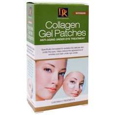 Daggett & Ramsdell Collagen Gel Patches Anti-Aging Under Eye Treament 6CT • For more youthful looking eyes • Specially formulated for reducing fine lines and wrinkles around your eyes • Leaves eye zon